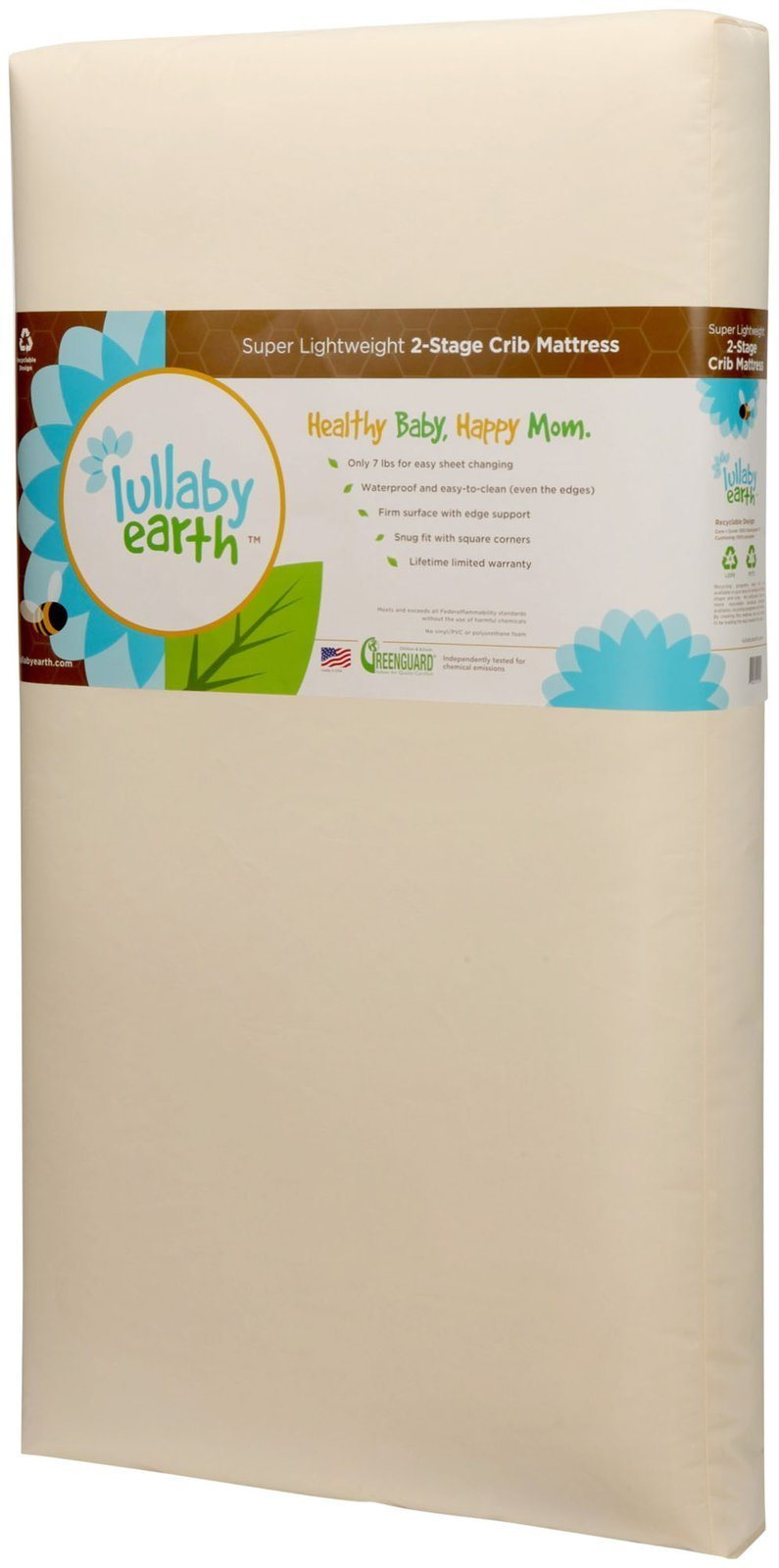 Lullaby Earth Healthy Support Crib Mattress 2-stage by Lullaby Earth (Image #2)