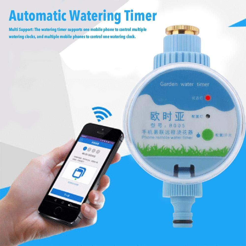 Lifesongs Bew/ässerungstimer,Wasserdichtes WiFi Mobile Phone Control Bew/ässerungsger/ät Automatische Bew/ässerung F/ür Den Innen Und Au/ßenbereich