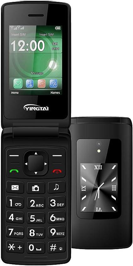 YINGTAI T30 2G Telefonos Moviles para Personas Mayores con Tapa ...
