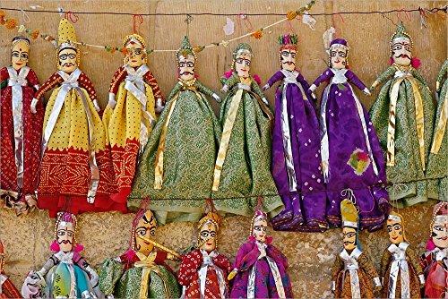 Crafts for Sale, Jaisalmer Fort, Jaisalmer, India by Adam Jones/Danita Delimont Laminated Art Print, 33 x 22 inches