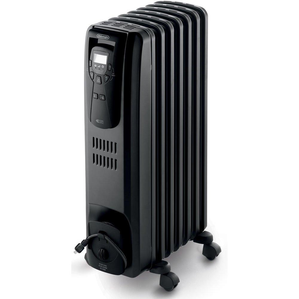 amazon com delonghi ew7507eb oil filled radiator heater black amazon com delonghi ew7507eb oil filled radiator heater black 1500w home kitchen