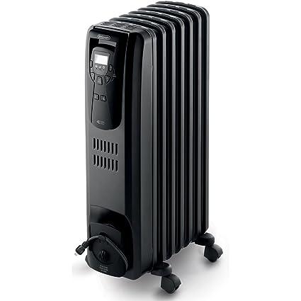 Amazon.com: DeLonghi EW7507EB Oil Filled Radiator Heater Black 1500W on
