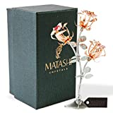 Matashi Everlasting Rose Flower Tabletop Ornament