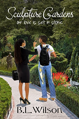 Black Sculpture Design - Sculpture Gardens: Our love is set in stone (Summer Reads Book 3)