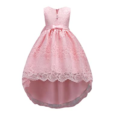 0deab679859a Hougood Girls Dresses Prom Dresses for Kids Flower Girl Fancy Party Dress  Summer Occasion Dresses Tutu Dresses Performance Costumes 2-13 Years  Princess ...