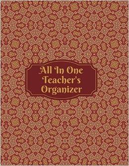 amazon com all in one teacher s organizer teachers grading book
