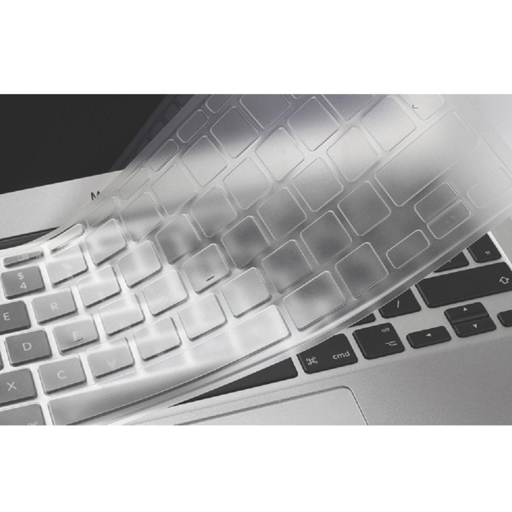 Se7enline Clear Macbook Keyboard Cover Silicone Skin Protector Eu 14 Inch Uk Layout For Air 13 Pro 15 17 With Without Retina Display Not
