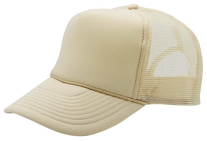 Quality Merchandise QML Trucker Cap Mesh Hat with Solid a3dc46c71e46
