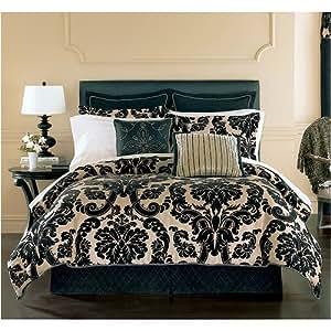 Amazon Com Springmaid Luxury Comforter Set Queen Lynnwood
