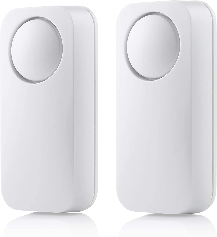Smartwares SMA-40952 Glass Break Sensor Alarm 2 Pack 6 V White
