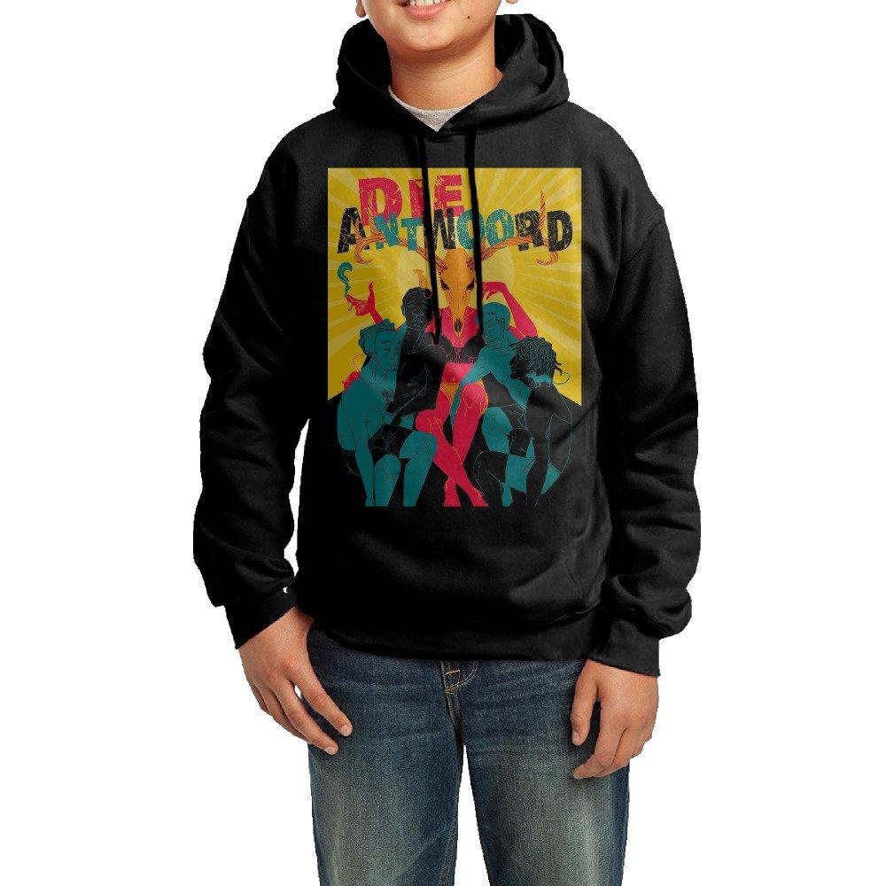 Boys Girls Kids Die Antwoord Band Hoodie Black Cotton Hoodie