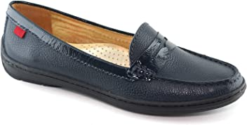Marc Joseph New York Womens Leather Made in Brazil Atlantic Loafer Driving Style