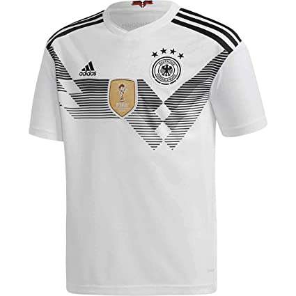 e86befcec adidas Kids Boy s 2018 Germany Home Jersey (Little Kids Big Kids) White