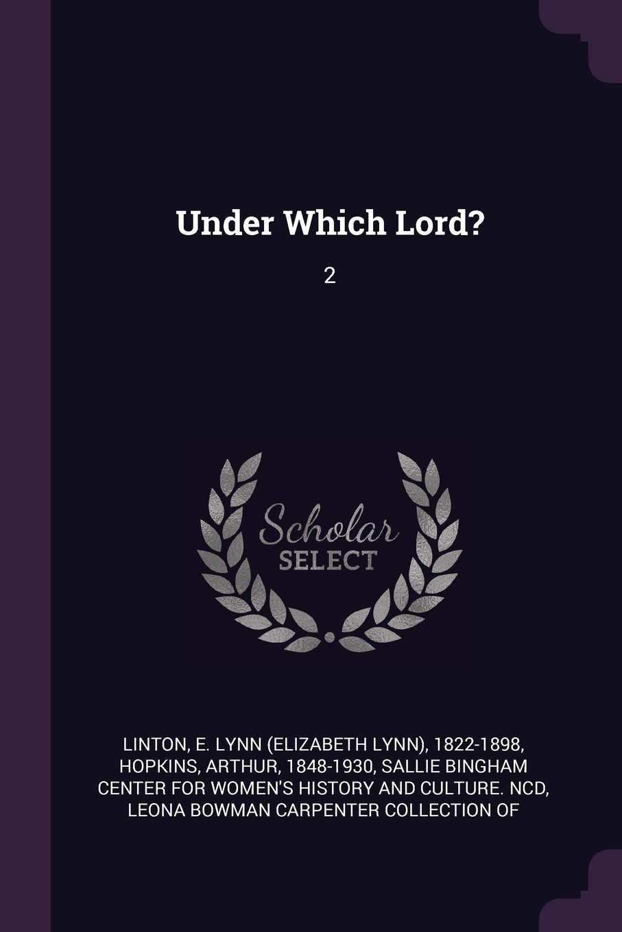 Read Online Under Which Lord?: 2 ebook