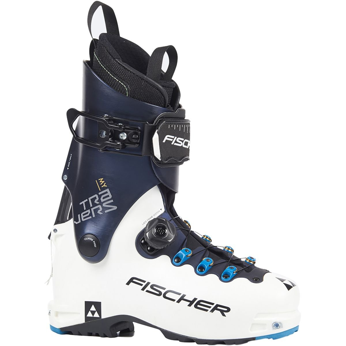 Fischer My Travers レディース スキーブーツ ホワイト/ダークブルー 27.5