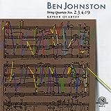 Ben Johnston: String Quartets Nos. 2, 3, 4, & 9