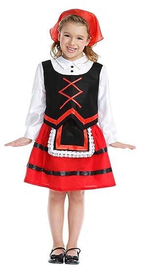 Disfraz de Pastora Infantil (3-4 años)