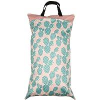 Bolsa de pañales con cremallera, bolsa de pañales