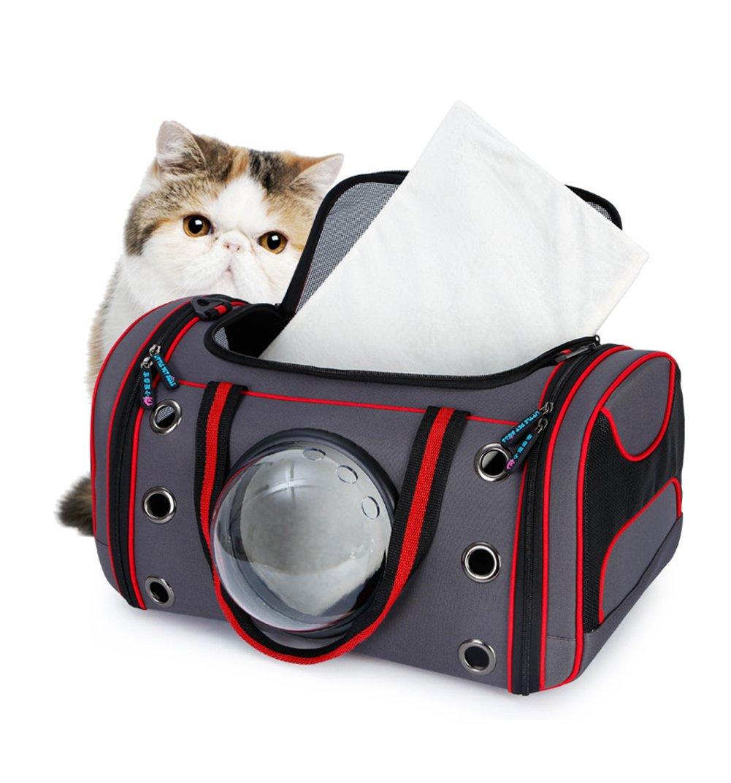 Trasportino Per Animali Animali Animali Domestici Per Gatti E Cani Di Taglia Piccola Portatile Pet Carriers,M 77e47e