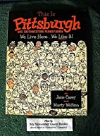 This is Pittsburgh and Southwestern…