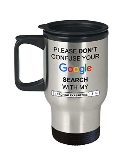 Amazon Funny Gift For Teacher Gifts Idea Travel Coffee Mugs
