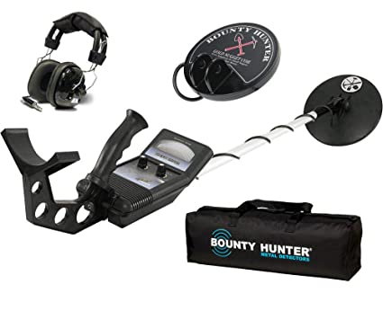 First Texas Bounty Hunter Gold Digger Metal Detector w/ Headphones, Bag & Coil