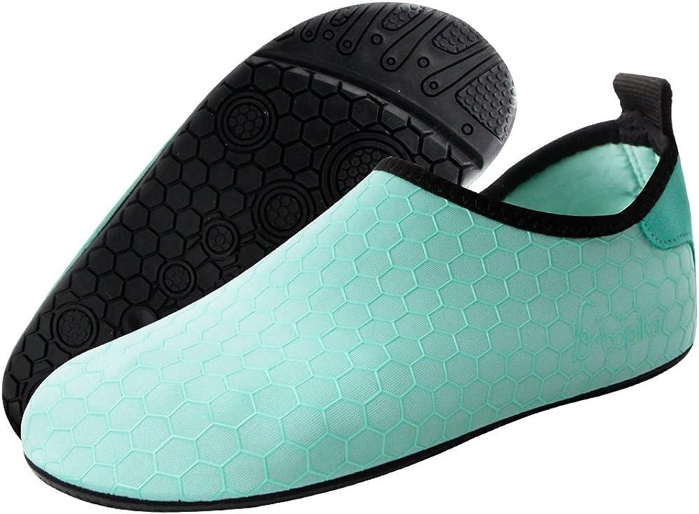 Bopika Water Socks Barefoot Shoes Water Sports Shoes Quick-Dry Aqua Yoga Socks for Women Men Kids