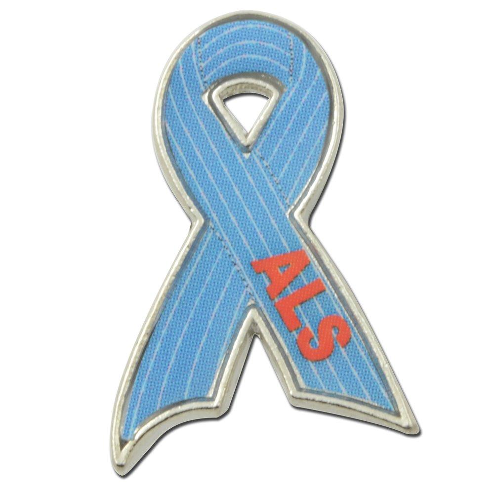 StockPins ALS Awareness Ribbon