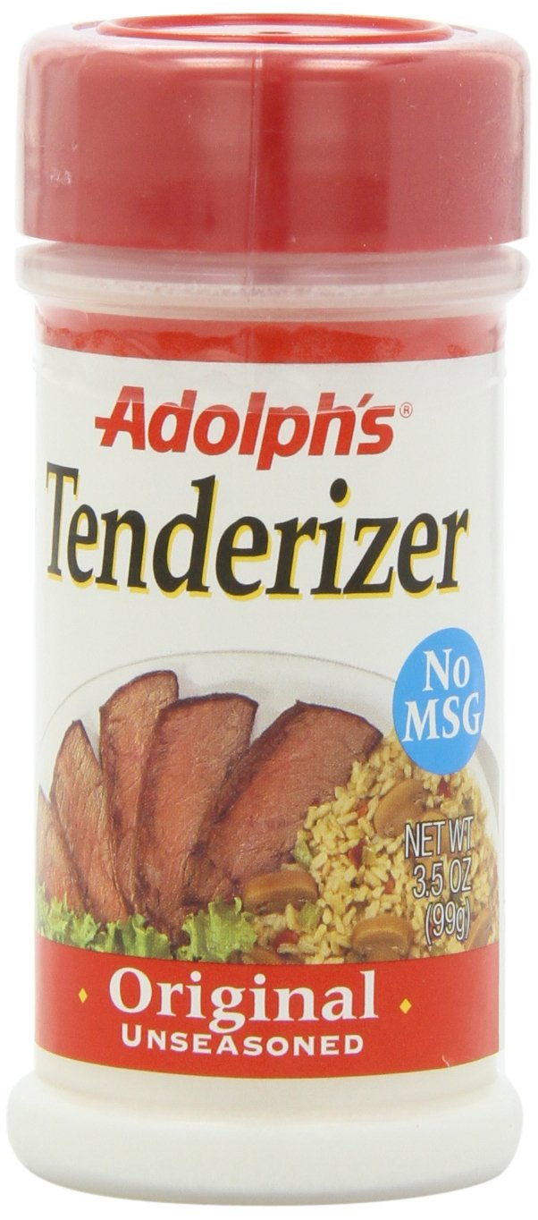 Adolph Tenderizer Original Unseasoned, 3.5-Ounce (Pack of 6) Adolph's 00234556_ob