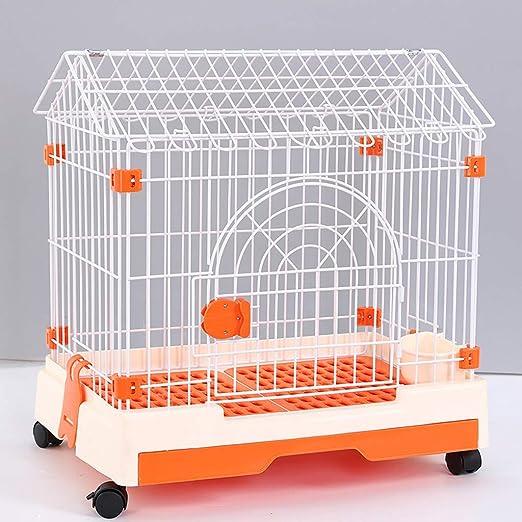 Jaula para Mascotas, Cerca pequeña y Mediana de Resina PP/Perro ...