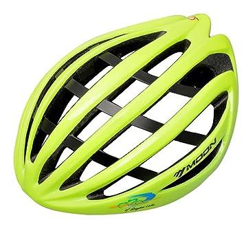 Lmzyan Nuevo enfriamiento abajo / aluminio + esqueleto de fibra de casco ligero, casco de