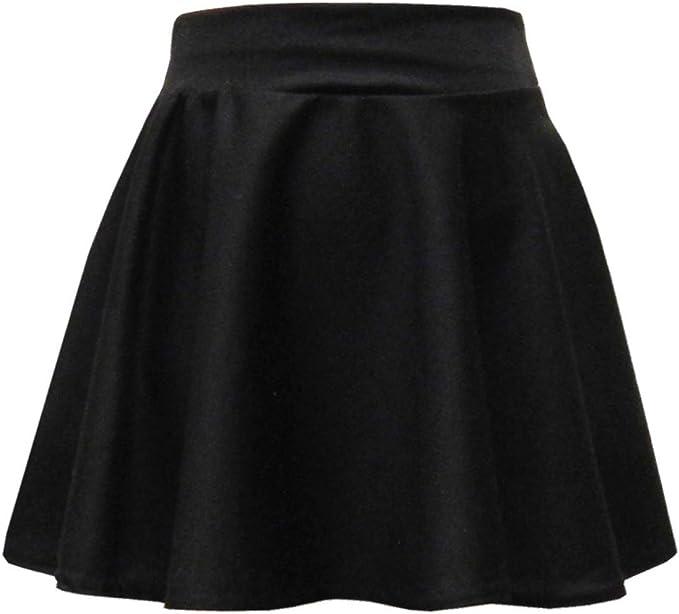Linen Galaxy Skater Skirt Black Colour Kids Girls Formal Casual School Wear 7 to 13 Year