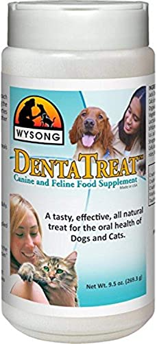 Wysong DentaTreat Canine Feline Food Supplement