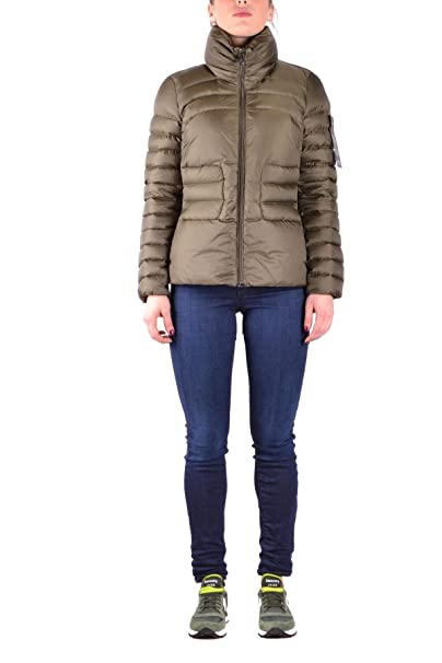 cheap for discount 9cbf7 c8cb2 Peuterey Luxury Fashion Womens Outerwear Jacket Spring Green ...