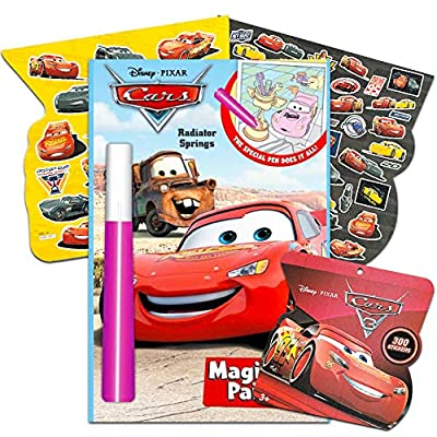 Lee Publishing Invisible Ink Disney Cars Book 1: Toys & Games