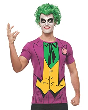 Horror-Shop Joker Camisa Peluca L