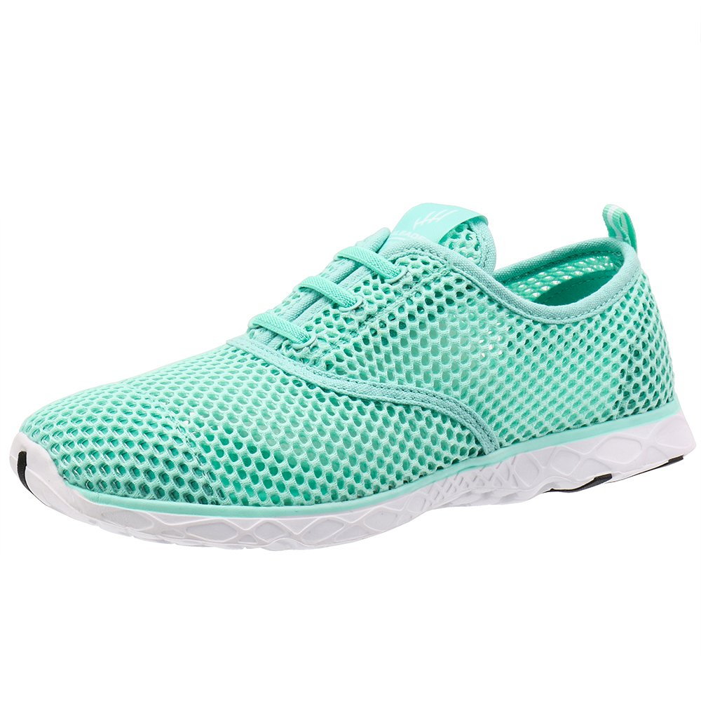 ALEADER Women's Quick Drying Aqua Water Shoes New Mint 10 D(M) US by ALEADER