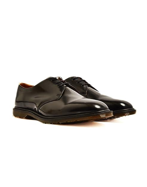 halpa kuumia tuotteita aitoja kenkiä Dr. Martens Unisex Archie 3-Eye Oxfords, Black, 6 M UK, M7 ...