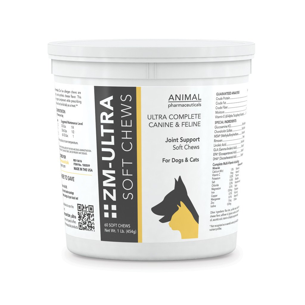 Animal Pharmaceuticals 60 Count ZM Ultra Soft Chews