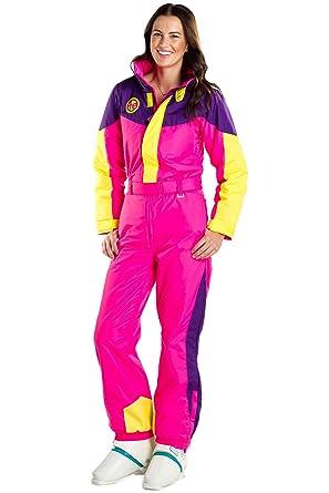 8d5448f0b6 Amazon.com  Tipsy Elves Women s Slope Star Ski Suit  X-Small Neon ...