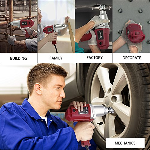 Topcraft Electric Wrench Sockets Carry