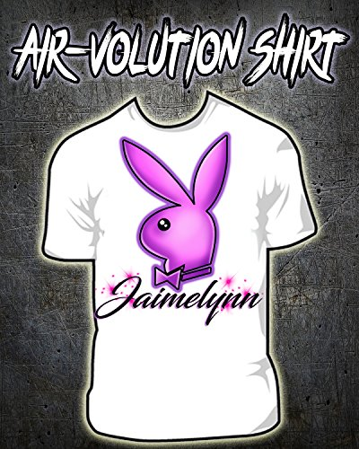 Personalized Airbrushed Playboy Bunny Shirt ()