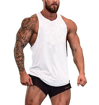 958352f1557ee EUFANCE Hommes du Muscle Coupé Stringer séance d Entraînement de Musculation  sans Manches Salle de