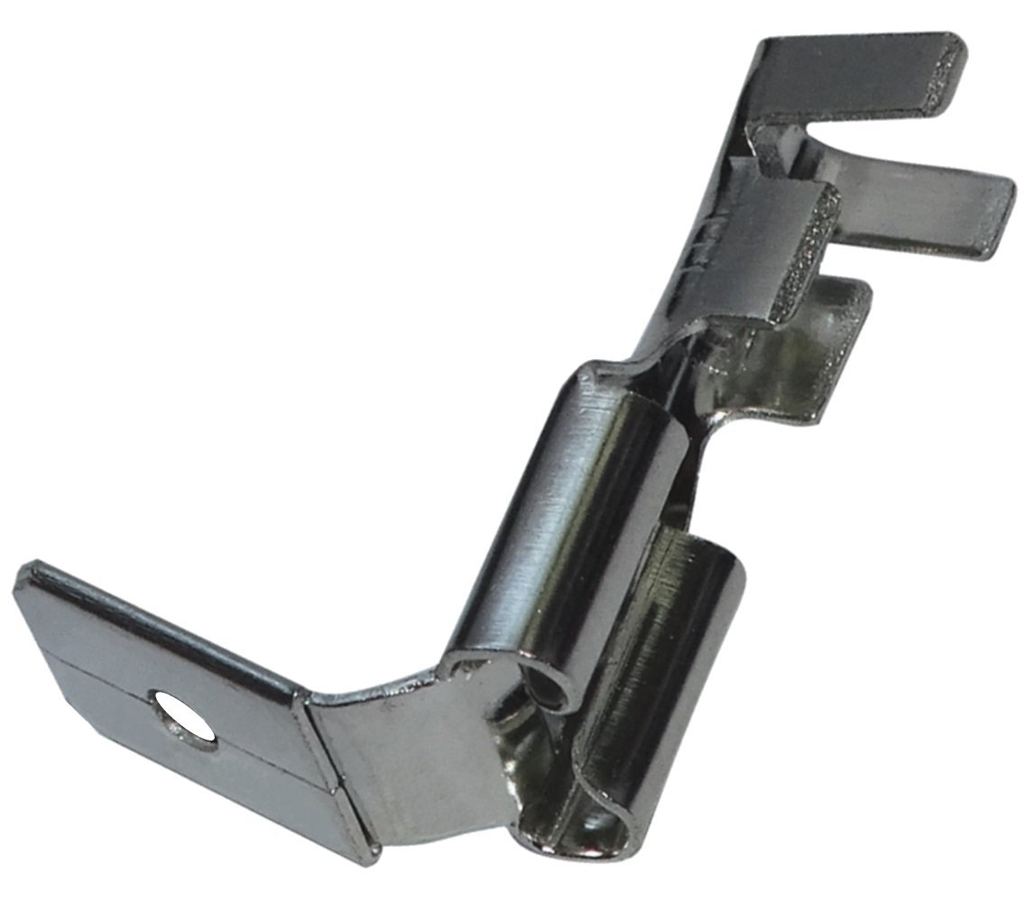 100x Terminales electricos planos macho//hembra 6.3mm 0.8mm 1.5.2.5mm/² C11329 AERZETIX