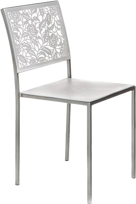 4 Sedie Da Cucina.Wink Design New Orleans White Set 4 Sedie Bianco Amazon It Casa E Cucina