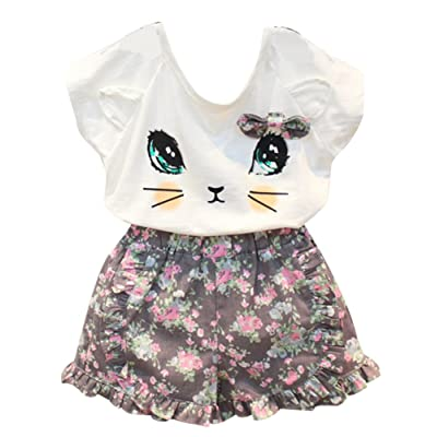 9a9fcc80238a BomDeals Adorable Cute Toddler Baby Girl Clothing 2pcs Outfits ...