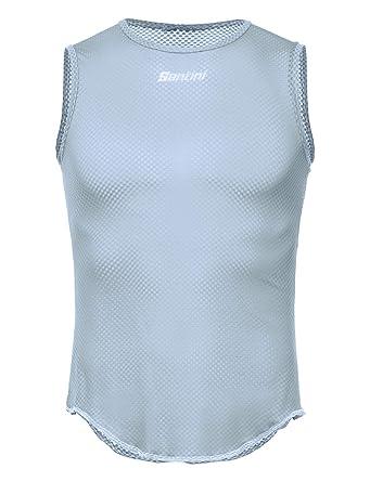 Santini Lieve - Camiseta sin Mangas para Hombre: Amazon.es ...