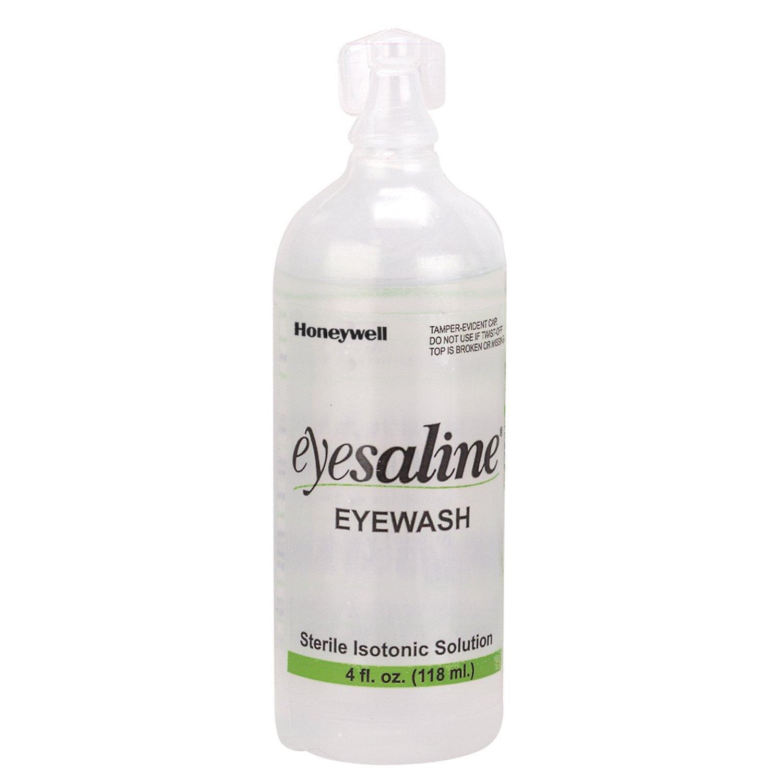 Honeywell 32-000452-0000 Saline Personal Eyewash Bottles, 4 oz. HW2-FEN320004520000-CV
