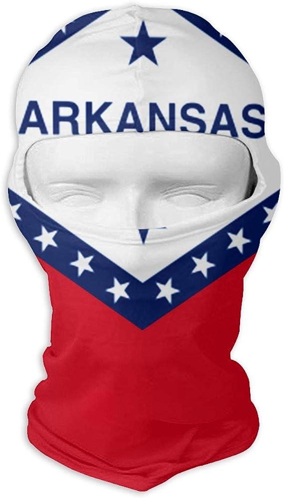 Wind-Resistant Face Mask LaoJi Flag of Kansas Winter Ski Mask Balaclava Hood