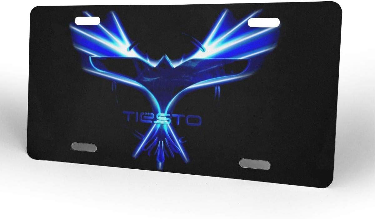 MYGED Metal Cool Tiesto License Plate Car Accessories 6 X 12
